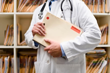 Paper medical record